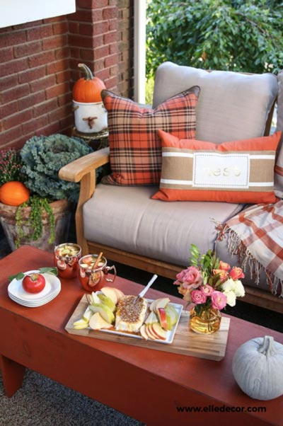Five beautiful ways to spruce up your home's entrance for fall